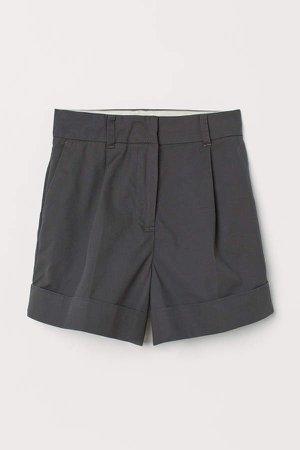 Pima Cotton Shorts - Gray