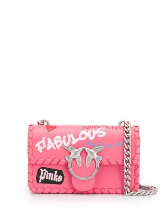 Pinko Love Crossbody Bag - Farfetch