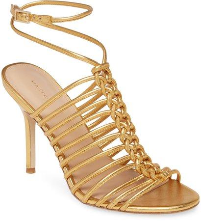 Paula Wrap Ankle Cage Sandal
