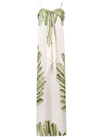 Johanna Ortiz palm tree print maxi dress $1,484 - Buy Online SS19 - Quick Shipping, Price