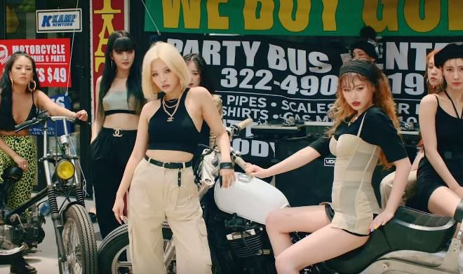gidle uh oh