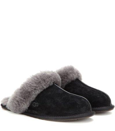 Scuffette II suede slippers