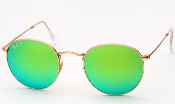 Lime Green Sun Glasses