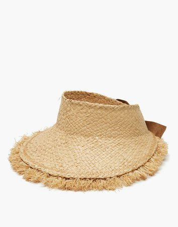 WYETH Straw Maris Visor Hat