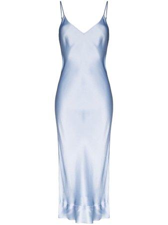Lee Mathews Stella Slip Midi Dress - Farfetch