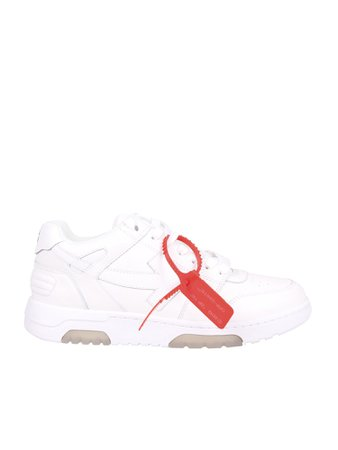 Off-White Lace Up Sneakers