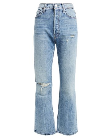 MOTHER   The Tripper Straight Leg Jeans   INTERMIX®