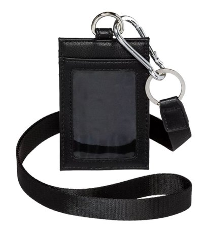 Black Badge Lanyard