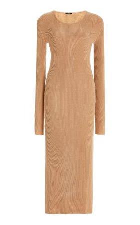 Ribbed-Knit Wool-Blend Midi Dress By Joseph | Moda Operandi