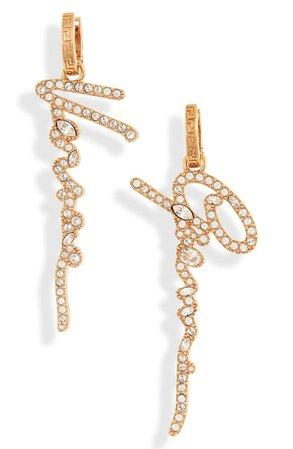 Versace Gianni Versace Signature Drop Earrings | Nordstrom