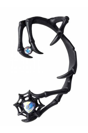 Demon Black Earring by Alchemy Gothic | Gothic Jewellery