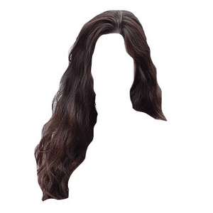Dark Brown Hair PNG