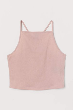 Short Camisole Top - Pink