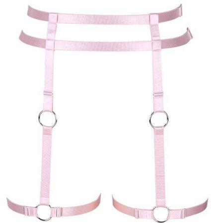 Pink Leg Harness
