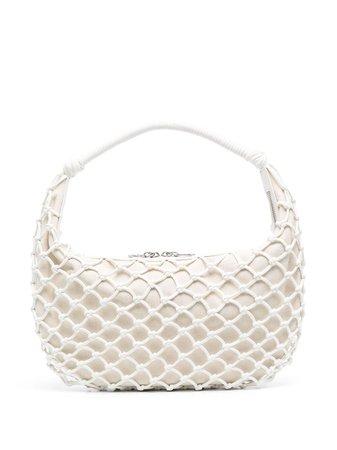 STAUD Luna open-knit Shoulder Bag - Farfetch