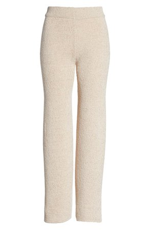 WITTY FOX Easy Straight Leg Knit Pants | Nordstrom