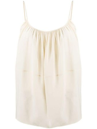 Chloé ruched camisole top - Farfetch