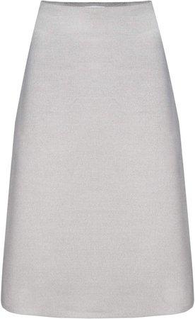 BEVZA Wool Pencil Skirt
