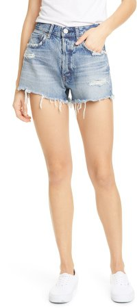 Chester Distressed Denim Shorts