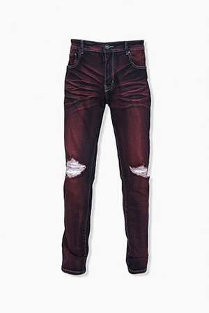 Men's Jeans and Denim: Skinny, Distressed and Ripped, Slim-Fit & More | Forever 21
