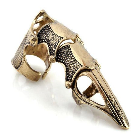 Gold Claw Finger Ring