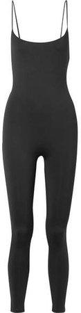 Skin - Romy Stretch-jersey Jumpsuit - Black