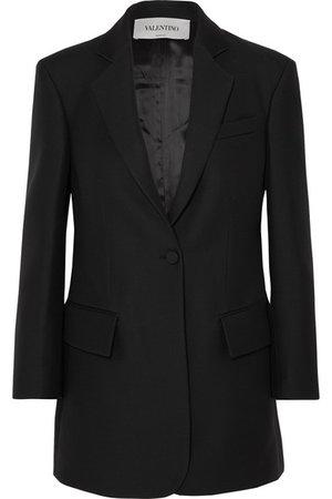 Valentino   Blazer aus einer Seiden-Wollmischung   NET-A-PORTER.COM