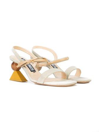 Jacquemus wooden heel sandals