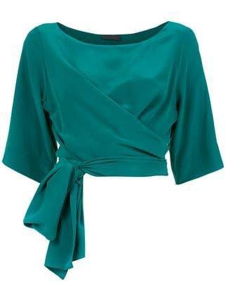 teal top shirt blouse