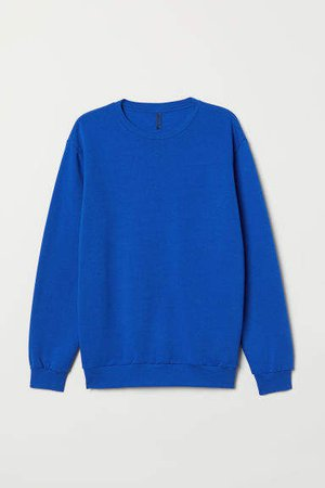 Relaxed-fit Sweatshirt - Blue