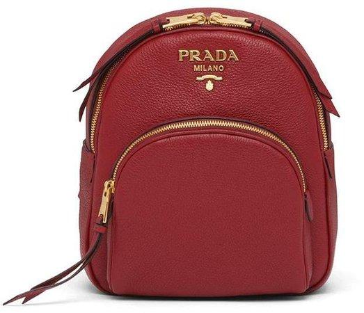 Logo Plaque Backpack