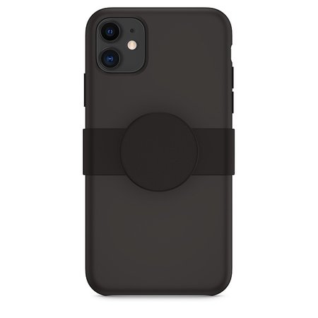 Slide PopGrip de PopSockets pour iPhone 11 - Noir - Apple (FR)
