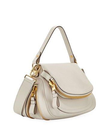 TOM FORD Jennifer Medium Grained Leather Shoulder Bag   Neiman Marcus