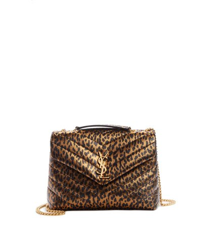 Saint Laurent Small Lou Metallic Leather Crossbody Bag | Nordstrom