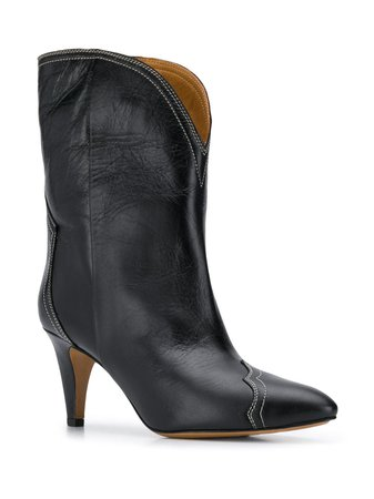 Isabel Marant Pointed Cowboy Boots - Farfetch