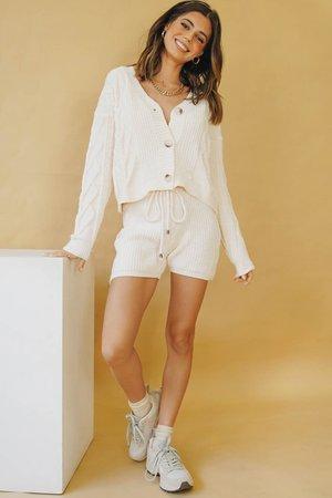 New York Loft Knit Set // Cream – Verge Girl