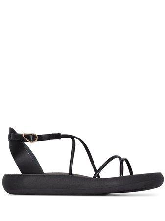 Ancient Greek Sandals Anastasia strappy sandals black ANASTASIACOMFORTNAPPA - Farfetch