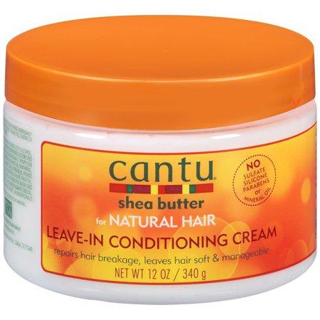 Cantu Shea Butter for Natural Hair Leave-In Conditioning Cream, 12 fl oz - Walmart.com - Walmart.com