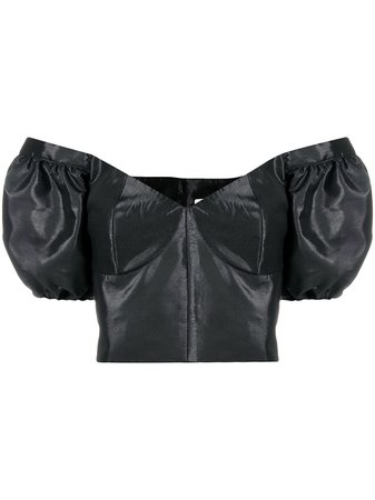 Loulou off-shoulder Cropped Blouse - Farfetch