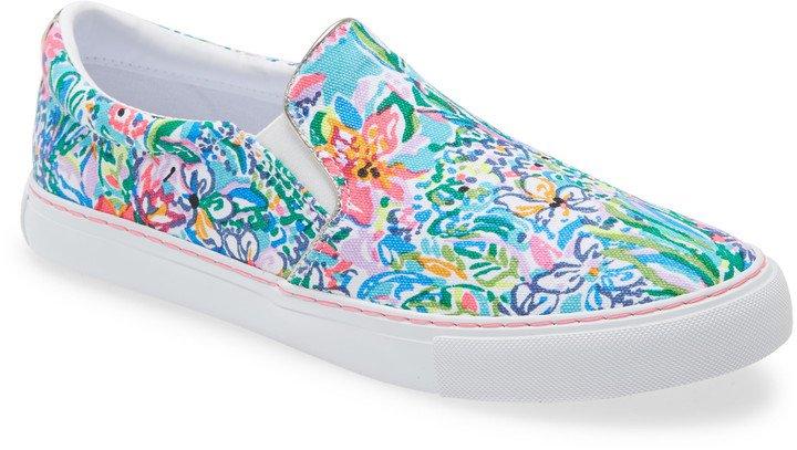 Julie Print Slip-On Sneaker