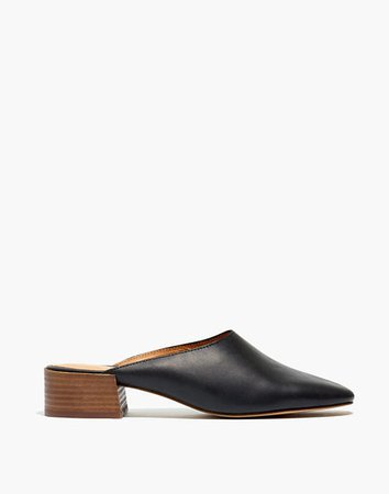 The Alicia Mule in Leather