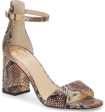 Vince Camuto Winderly Ankle Strap Sandal (Women)   Nordstrom