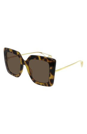 Gucci 51mm Square Sunglasses | Nordstrom