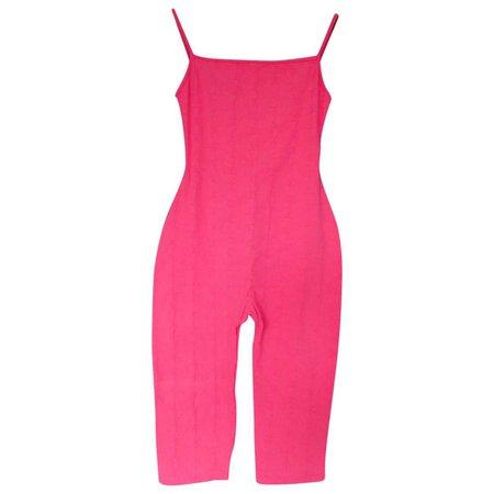 chanel pink jumpsuit vestiaire collective - Recherche Google