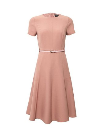 Pink Fit And Flare Dress | Dorothy Perkins