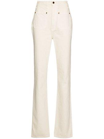 Khaite Isabella straight-leg jeans
