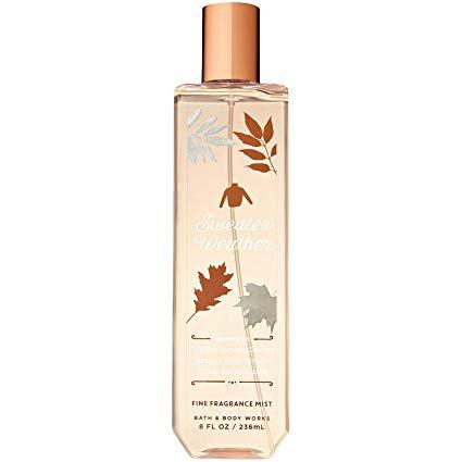 Amazon.com : Bath and Body Works Sweater Weather Fine Fragrance Mist 8 Fluid Ounce Spray : Beauty