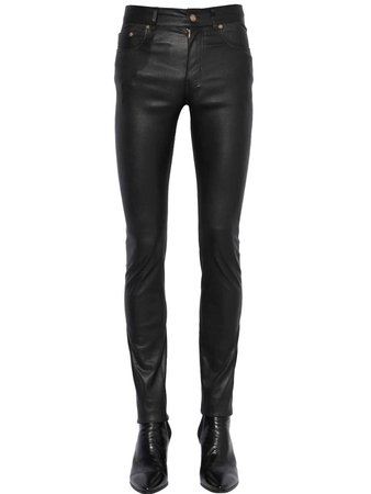 SAINT LAURENT 15CM SKINNY STRETCH FAUX LEATHER JEANS BLACK MEN CLOTHING,yves saint laurent muse bag,yves saint laurent m7,Exclusive, yves saint laurent ysl on sale 100% quality guarantee