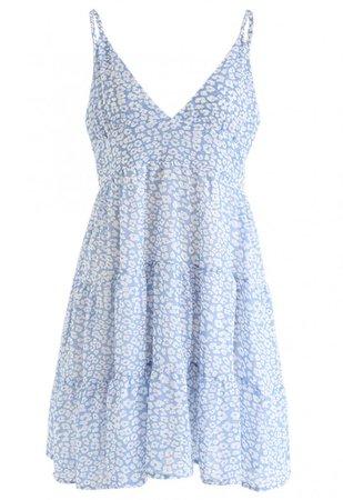 Enchanted Floret Chiffon Mini Cami Dress - NEW ARRIVALS - Retro, Indie and Unique Fashion