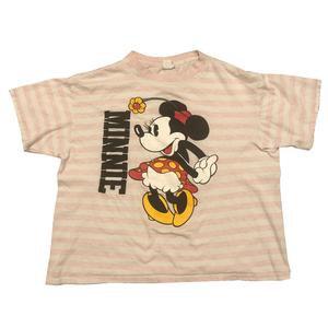 Minnie Striped Tee - L - VTG 80s – hundredacrehood